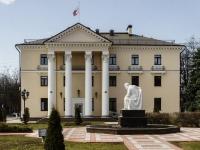 Видное, улица Школьная. памятник Ленину