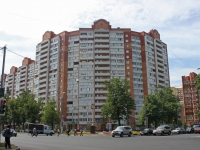 Lyubertsy, Oktyabrsky avenue, house 8 к.1. Apartment house