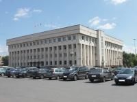 隔壁房屋: avenue. Oktyabrsky, 房屋 190. 管理机关 Администрация Люберецкого муниципального района