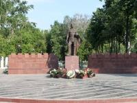 neighbour house: avenue. Oktyabrsky. memorial Памятник с Вечным огонём