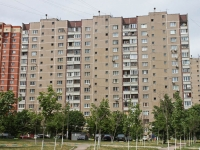 Lyubertsy, The 3rd pochtovoe otdelenie st, house 58. Apartment house