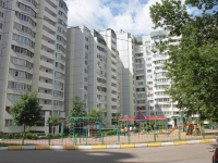neighbour house: st. Aviatorov, house 6. Apartment house
