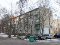 Lyubertsy, Lev Tolstoy st, house 14 к.1. Apartment house
