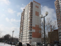 Lyubertsy, Pobratimov st, house 9. Apartment house
