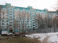 Lyubertsy, Pobratimov st, house 24. Apartment house