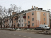 Lyubertsy, Popov st, house 4. Apartment house