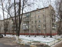 Lyubertsy, Popov st, house 7. Apartment house