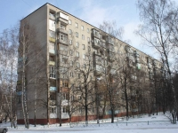 Lyubertsy, Popov st, house 38. Apartment house