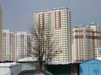 neighbour house: avenue. Gagarin, house 9В/СТР. building under construction