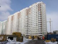 Lyubertsy, st Nazarovskaya, house 4. Apartment house