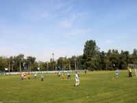 neighbour house: disrtict. Silicat, house 31. sport stadium Строитель