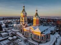 Mozhaysk, 寺庙 Во имя святых праведных Иоакима и Анны , Krupskoy st, 房屋 6А