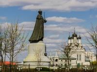 Мытищи, улица Центральная. памятник Николаю II