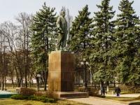 Мытищи, Новомытищенский проспект. памятник Ленину