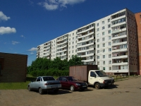 Noginsk, Belyakov st, house 21. Apartment house