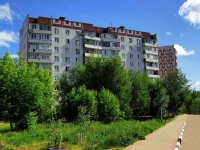 Noginsk, Belyakov st, house 25. Apartment house