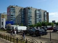 Noginsk, Belyakov st, house 35. Apartment house