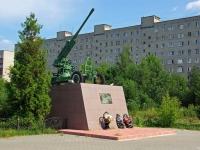 Ногинск, памятник Зенитчикамулица Декабристов, памятник Зенитчикам