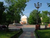 Noginsk, public garden БугроваBugrov square, public garden Бугрова