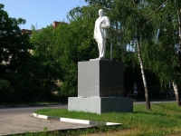 Noginsk, monument В.И.ЛенинуTekstiley st, monument В.И.Ленину