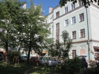 Staraya Kupavna, Kirov st, house 1. Apartment house