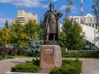 улица Маршала Жукова. памятник боярину Одинцу