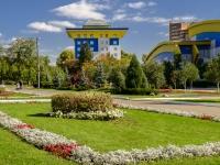 улица Молодежная. парк