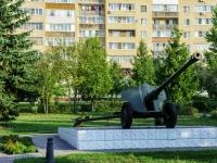 Озеры, памятник Пушкаимени маршала Катукова микрорайон, памятник Пушка