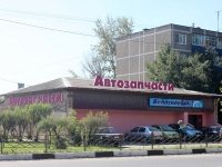 Kurovskoe, Sovetskaya st, house 84. Apartment house with a store on the ground-floor