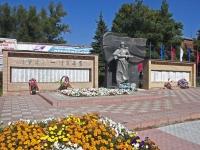 Куровское, мемориал Павшим воинамулица Советская, мемориал Павшим воинам