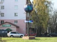 """соседний дом: ул. Гурьева. памятный знак """"Раменское"""""""