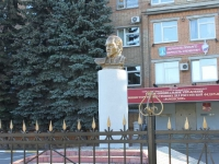 neighbour house: st. Mikhalevich. monument Ф.Э. Дзержинскому
