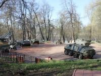 улица Первомайская. музей военной техники