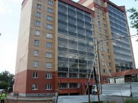 neighbour house: st. Chugunov. building under construction