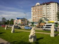 Khotkovo, Mayolik st, 雕塑群