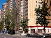 Stupino, Pushkin st, house 24 к.2. Apartment house