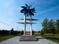 斯图皮诺, 纪念碑 Создателям воздушных винтовPobedy avenue, 纪念碑 Создателям воздушных винтов