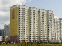 Чехов, улица Земская, дом 1. многоквартирный дом