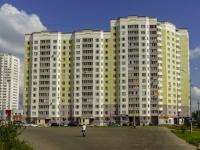 Чехов, улица Земская, дом 2. многоквартирный дом