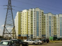 Чехов, улица Земская, дом 6. многоквартирный дом