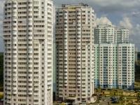 Чехов, улица Земская, дом 11. многоквартирный дом