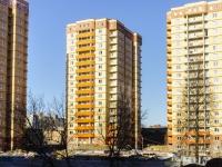 Чехов, улица Лопасненская. строящееся здание