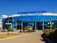 Чехов, улица Полиграфистов, дом 30 с.1. дворец спорта Олимпийский