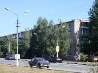 Shatura, Borzov avenue, house 10. Apartment house