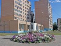 Shatura, monument И.И.БорзовуBorzov avenue, monument И.И.Борзову