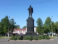Шатура, площадь Ленина. памятник В.И.Ленину