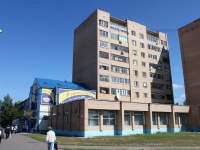 Shatura, Zharov st, house 34. Apartment house with a store on the ground-floor
