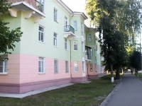 Shatura, Klara Tsetkin st, house 10. Apartment house