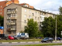 Щелково, Советский 1-й переулок, дом 6А. многоквартирный дом