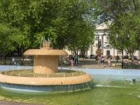 Щелково, улица Пушкина. фонтан На ул. Пушкина